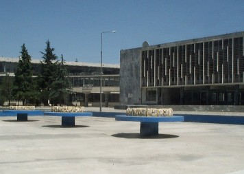 The two main buildings of university.